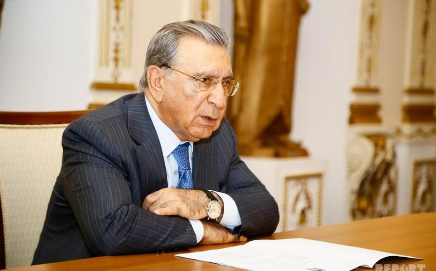 Ramiz Mehdiyev Rusiyanın Şərəf ordeni ilə təltif edilib