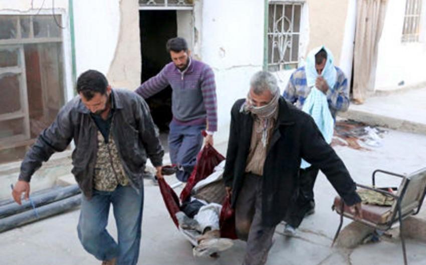 Terrorçular Dəməşqi atəşə tutublar, 13 nəfər ölüb, 135 yaralı var