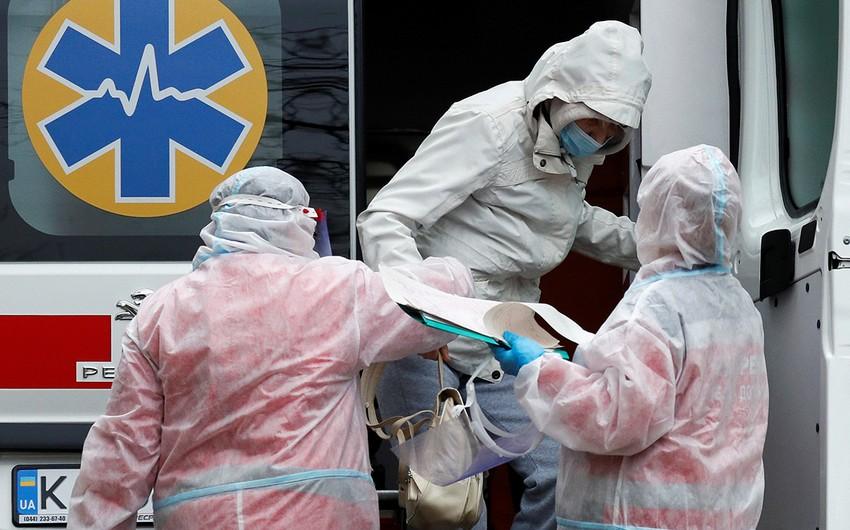 Ukraynada koronavirusa yoluxanların sayı 1 milyon 546 mini ötdü