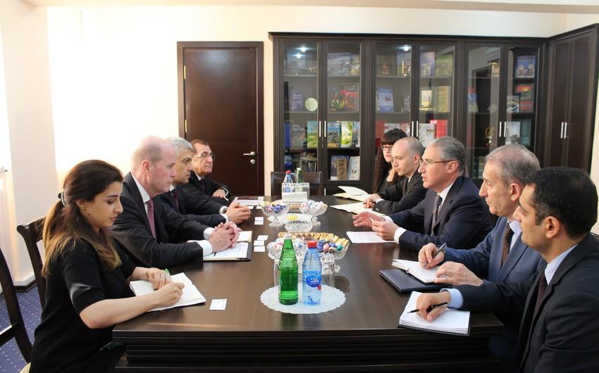 Muxtar Babayev BP-nin nümayəndə heyətini qəbul edib