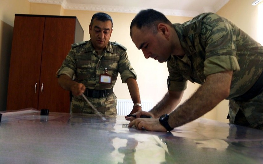 Actions were taken on the terrain board in the course of the exercises - VIDEO