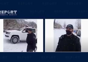 Azerbaijani police arrive in Kalbajar