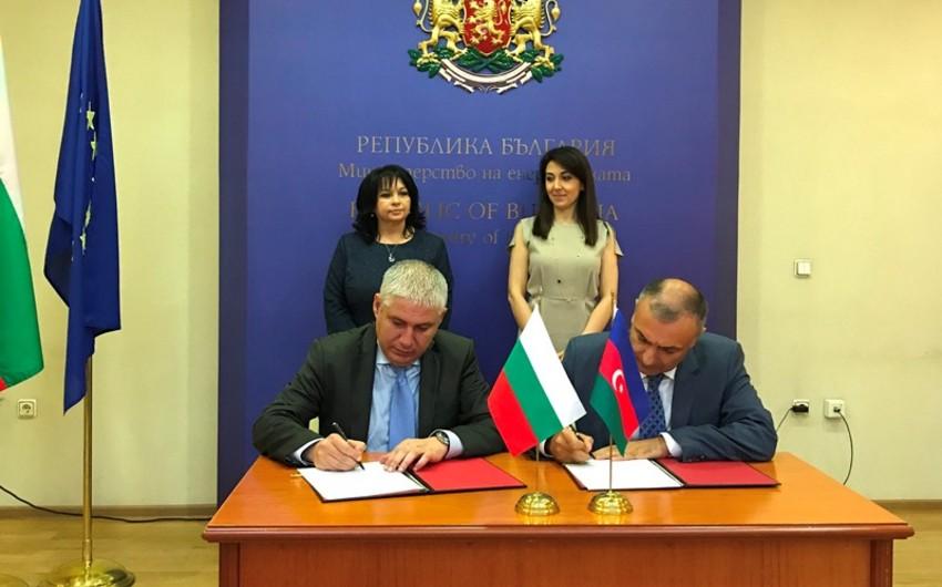 SOCAR и Bulgartransgaz подписали меморандум о взаимопонимании