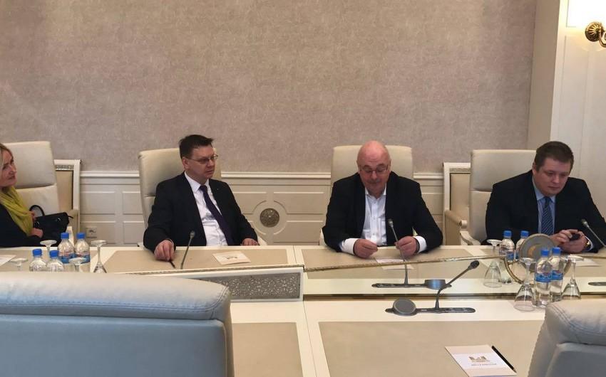 Estoniya parlamentinin nümayəndə heyəti Bakıda səfərdədir
