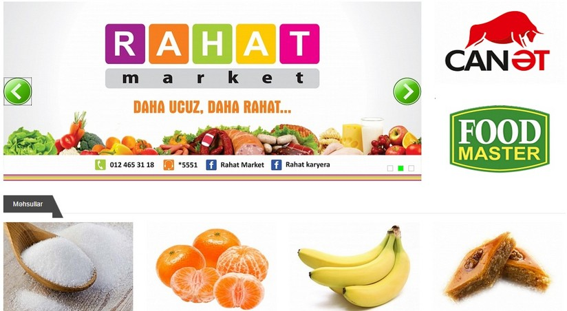 Rahat Market Artiq Yeni Formatda Foodinfo Az