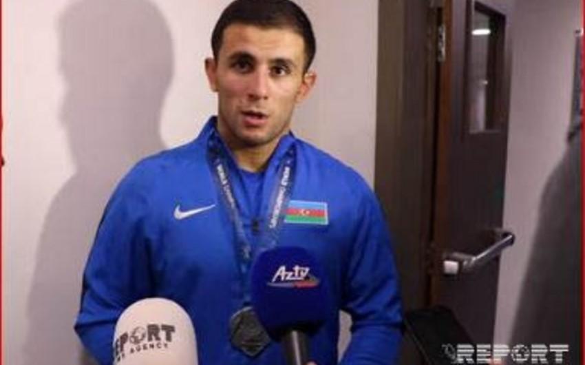 Rafiq Hüseynov: Mənim ən böyük uğurum Avropa çempionluğudur