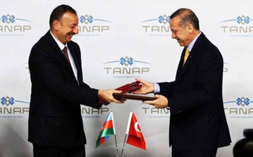Обнародована дата закладки фундамента TANAP в Турции