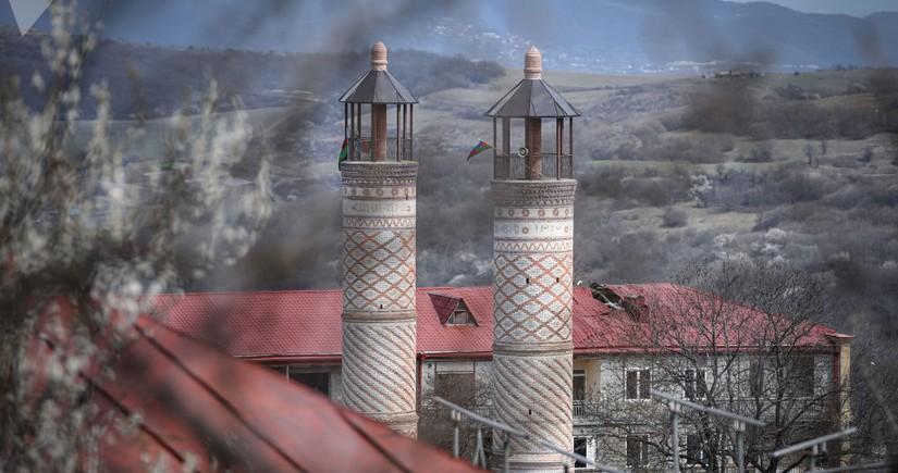 Yuxarı Gövhərağa məscidi təmir olunub