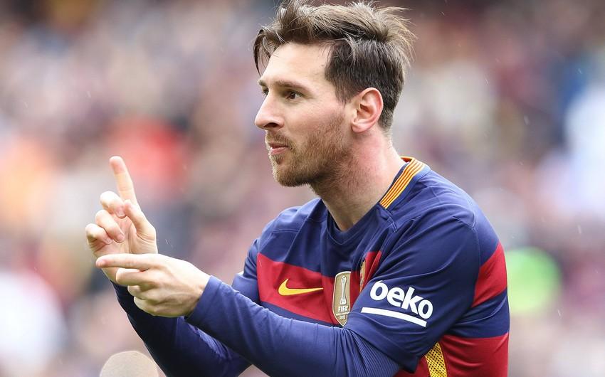 Messinin möhtəşəm qolunda Barselonanın bütün futbolçuları iştirak etdi
