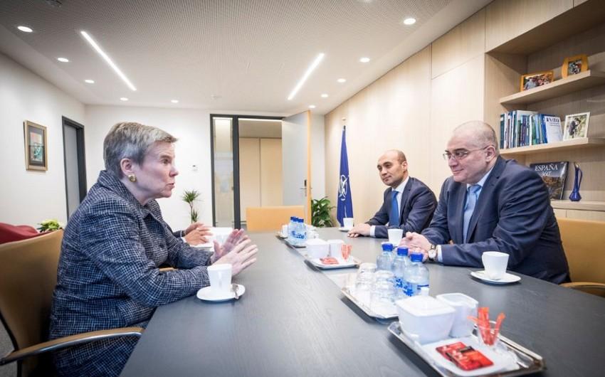 Araz Əzimov NATO-nun Şimali Atlantika Şurasının iclasında iştirak edib