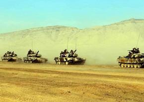 MN: Azərbaycan Ordusu döyüş hazırlığını davam etdirir