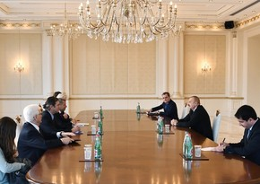 President Ilham Aliyev receives OSCE Minsk Group co-chairs from France and US