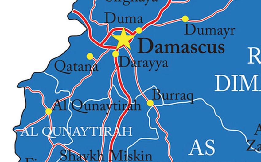 İsrail ordusu Dəməşq ətrafına PUA-lar vasitəsilə zərbələr endirib
