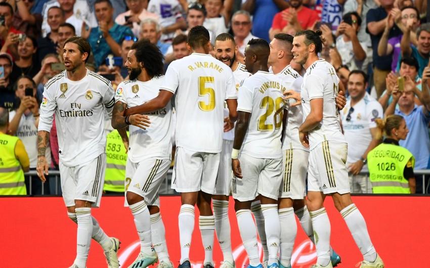 La Liqa: Real Madrid səfərdə xal qazandı