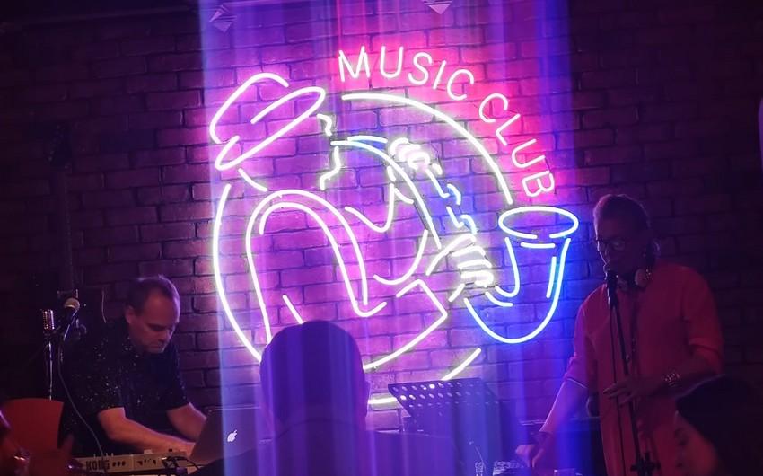 Dutch jazz musicians perform in Baku