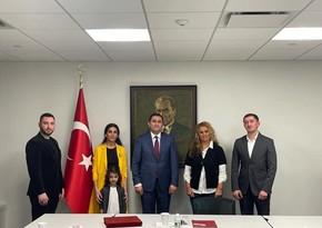 Члены азербайджанской общины встретились с турецким дипломатом