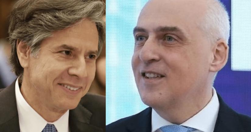 Gürcüstanın XİN başçısı ABŞ-ın dövlət katibi ilə regional təhlükəsizliyi müzakirə edib