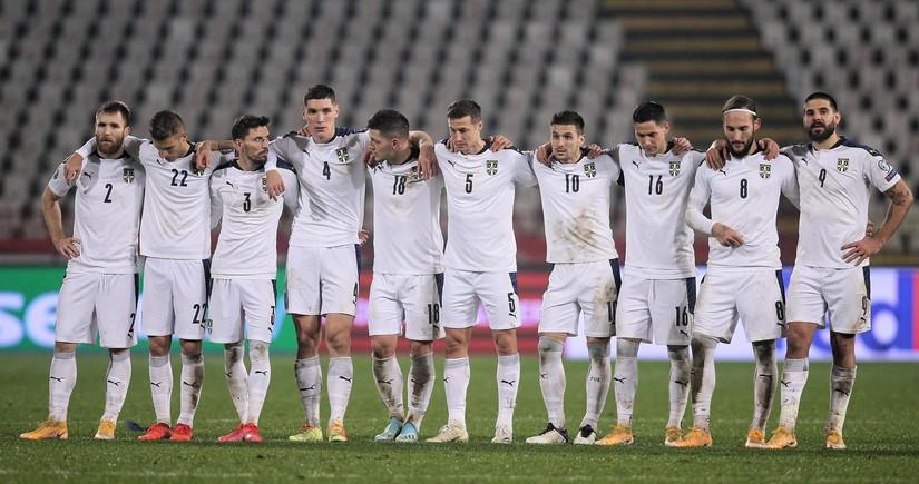 Serbiya yığmasının millimizlə oyun üçün heyəti açıqlandı