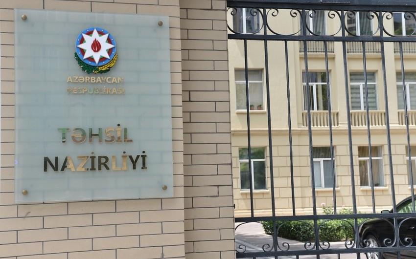 Təhsil Nazirliyi: 9196 nəfər peşə təhsili müəssisələrinə qəbul olunub