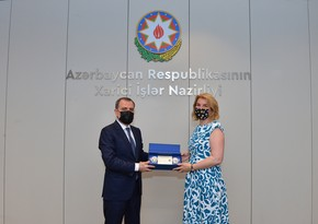 Jeyhun Bayramov meet with head of EBRD office in Azerbaijan
