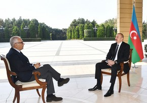 President Ilham Aliyev gives interview to Italian newspaper La Republica