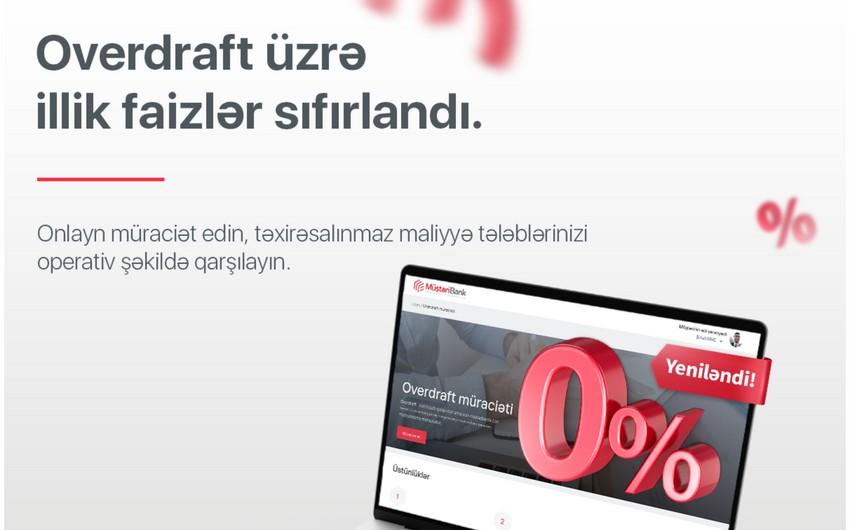 Kapital Bank sahibkarlara illik 0 faizlə overdraft məhsulu təqdim edir