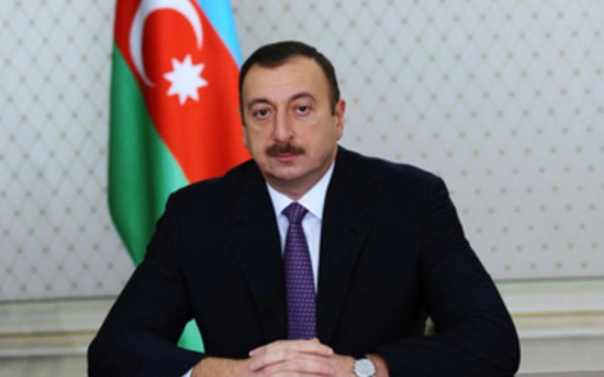 Azərbaycan Prezidenti tunisli həmkarına təbrik məktubu göndərib