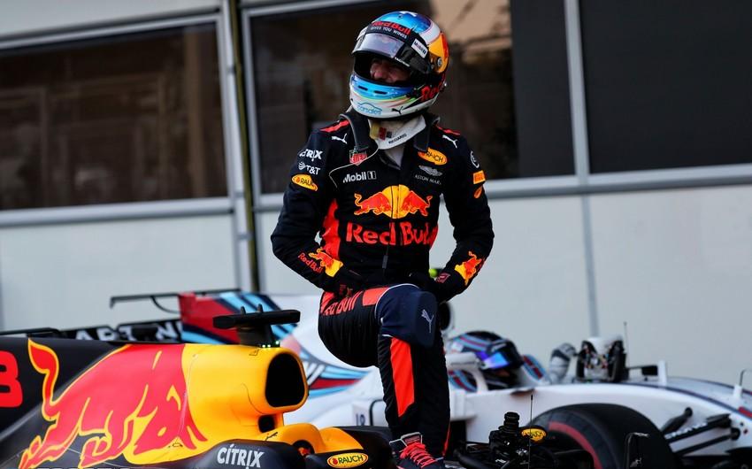 Formula 1 pilotu Bakıda qalib olduğu Qran-prini xatırladı