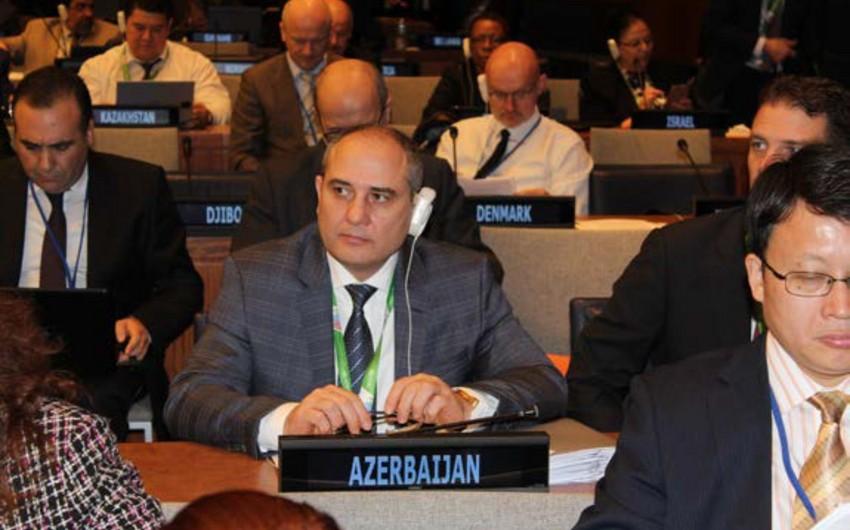 Tahir Budaqov BMT-nin Statistika Komissiyasının 47-ci sessiyasında iştirak edib