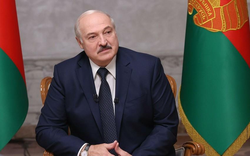 Lukaşenko IOC-un qərarına etiraz edəcək -