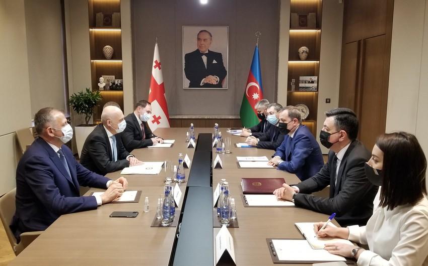 Azərbaycan və Gürcüstan XİN başçıları regional təhlükəsizliyi müzakirə ediblər - YENİLƏNİB-2