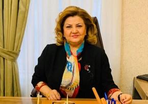"""Tənzilə Rüstəmxanlı """"Şöhrət"""" ordeni ilə təltif edilib"""