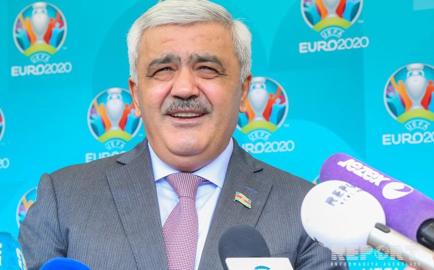 Ровнаг Абдуллаев: ЕВРО-2020 будет проведено на высоком уровне