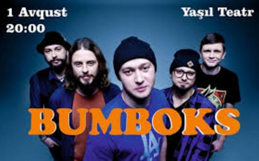 Ukraynanın məşhur Bumboks qrupu Bakıda konsert verəcək