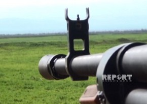 Azerbaijan Army's positions once again subjected to fire