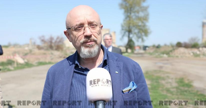 Oleksi Reznikov: Ukrayna Azərbaycanı dəstəkləyib və dəstəkləməkdə davam edəcək