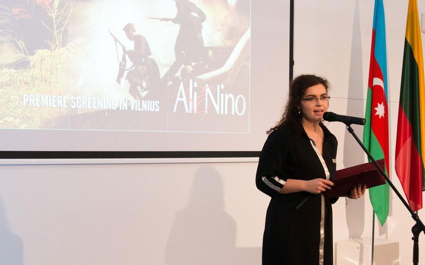 Litvada Ali və Nino filminin təqdimatı olub