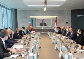 Gələn həftə Azərbaycan-Xorvatiya Hökumətlərarası Komissiyasının iclası olacaq