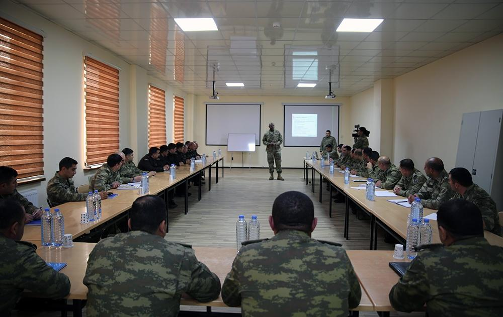 US Army Europe holds a seminar in Baku