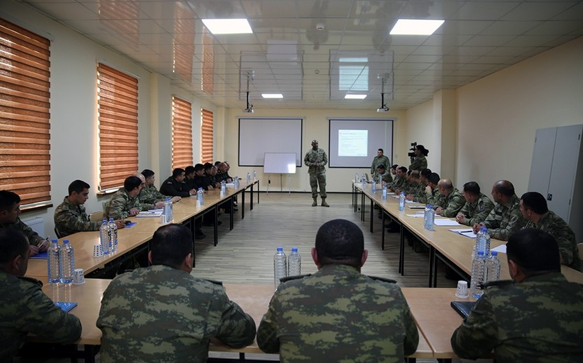 Bakıda ABŞ-ın Avropadakı Quru Qoşunları komandanlığının ekspertləri seminar keçirir