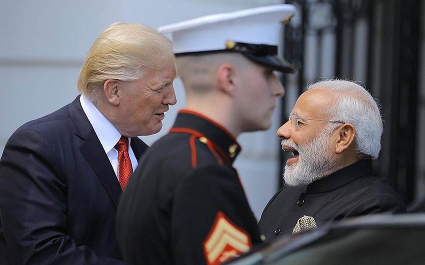 Трамп анонсировал первые совместные военные учения с Индией