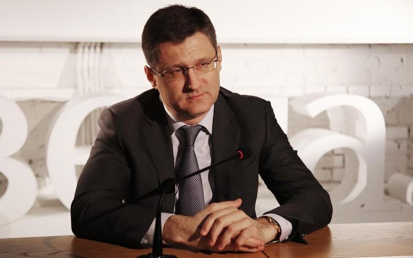 """Novak: """"Aprel neft sənayesinin tarixində ən ağır ay ola bilər"""""""