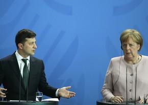Меркель встретится с Зеленским в Киеве