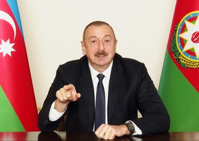 Ilham Aliyev: If Armenian fascism rises again, they will receive 10 times more