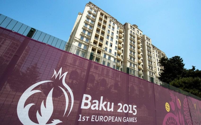 Bu gün l Avropa Oyunlarında iştirak etmək üçün daha 494 idmançı Bakıya gəlir