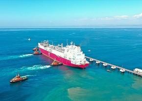 Türkiyənin ilk üzən LNG gəmisi ölkəyə gətirilib