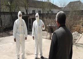 Kürdəmirdə karantini pozan 15 nəfər cərimələndi