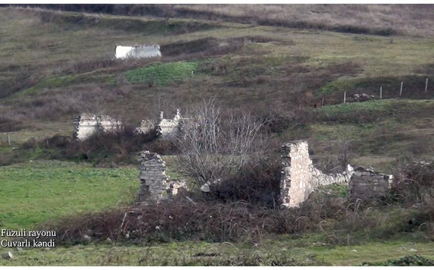 Footage of Juvarli village of Fuzuli