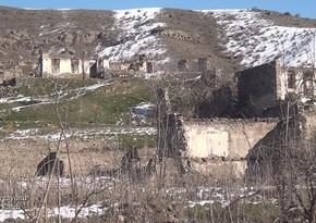 Erməni vandalları Qubadlının bu kəndini də viran qoyublar