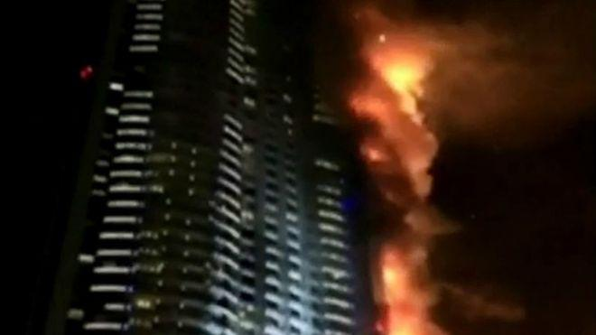 Fire engulfs high-rise apartment in UAE and injures five